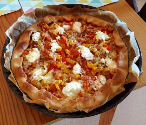 Pizza poivron
